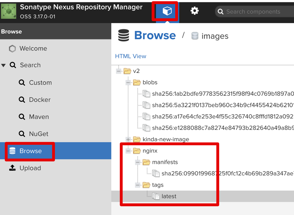 sonotype nexus repository manager
