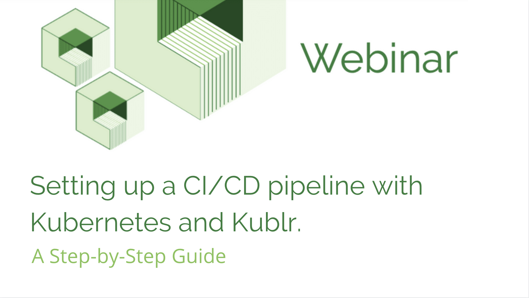 Setting up a CI/CD pipeline with Kubernetes and Kublr | A Step-by-Step Guide